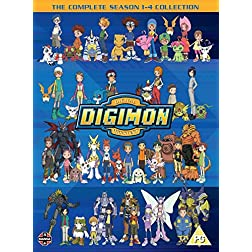 Digimon: Digital Monsters Season 1-4 Boxset