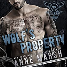 Wolf's Property Audiobook by Anne Marsh Narrated by Erin deWard, Noah Michael Levine