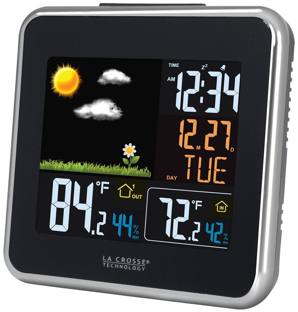 la crosse technology 308a 146 color lcd forecast station weather stations. Black Bedroom Furniture Sets. Home Design Ideas