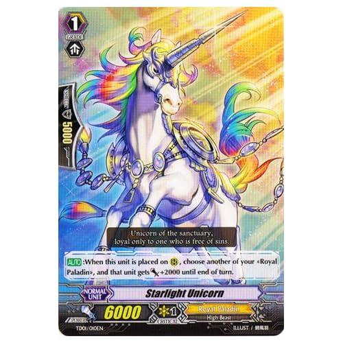 Cardfight!! Vanguard TCG - Starlight Unicorn (TD01/010EN) - Trial Deck