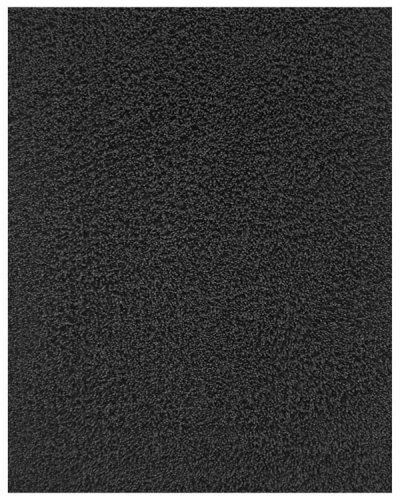 Anji Mountain Bamboo Chairmat & Rug Co. 7-Foot-by-10-Foot Silky Shag Rug, Black