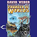Changer of Worlds: Worlds of Honor #3 (       UNABRIDGED) by David Weber, Eric Flint Narrated by Allyson Johnson, Victor Bevine, Lauren Fortgang, L. J. Ganser