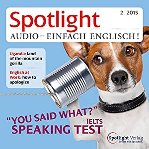 Spotlight Audio- Speaking test. 2/2015 Hörbuch