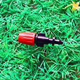 Generic Adjustable Mist Nozzle Sprinkler With Barbed Connector Micro Greenhouse Irrigation Fittings MS1017
