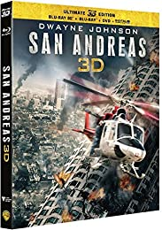 San Andreas (Ultimate Edition) - Combo Blu-Ray 3d + Blu-Ray + Dvd + Copie Digita