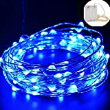 Bestgoo 100 LEDs, 33 FT Copper Wire String Lights Battery Operated, Starry Fairy String Lights LED Lights Fairy...
