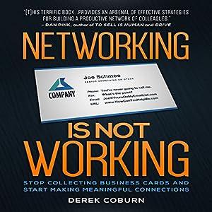 Networking Is Not Working Audiobook