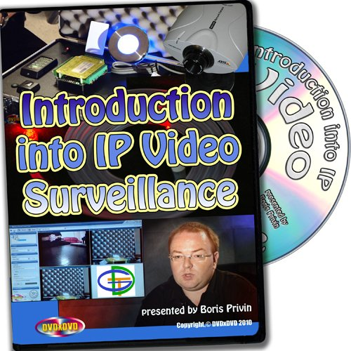 Introduction Into Security IP Video Surveillance, Complete Video-DVD Training