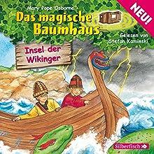 Insel der Wikinger (Das magische Baumhaus 15) Hörbuch von Mary Pope Osborne Gesprochen von: Stefan Kaminski