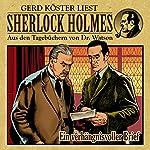 Ein verhängnisvoller Brief (Sherlock Holmes: Aus den Tagebüchern von Dr. Watson) | Gunter Arentzen