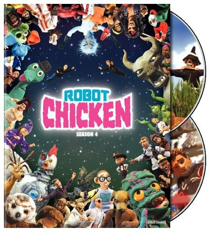 DVD : Robot Chicken: Season Four (2 Discos)