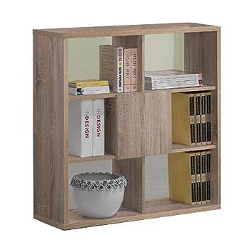 homestyle4u kommode b cherregal sideboard schrank raumtrenner regal schubladen s gerau neu us113. Black Bedroom Furniture Sets. Home Design Ideas