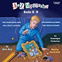 A to Z Mysteries: Books K-N Audiobook by Ron Roy Narrated by David Pittu