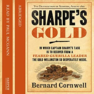 Sharpe's Gold Audiobook
