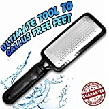 Colossal Foot Rasp Foot File And Callus Remover. Best Foot Care Pedicure Metal Surface Tool To Remove Hard Skin...