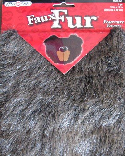 Fibre Craft FAUX FUR 1 Piece 12