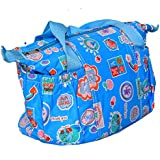 Kuber Industries™ Baby Diaper Nappy Changing Baby Bag Mummy Handbag In Baby Print Imported Material (KI19526)