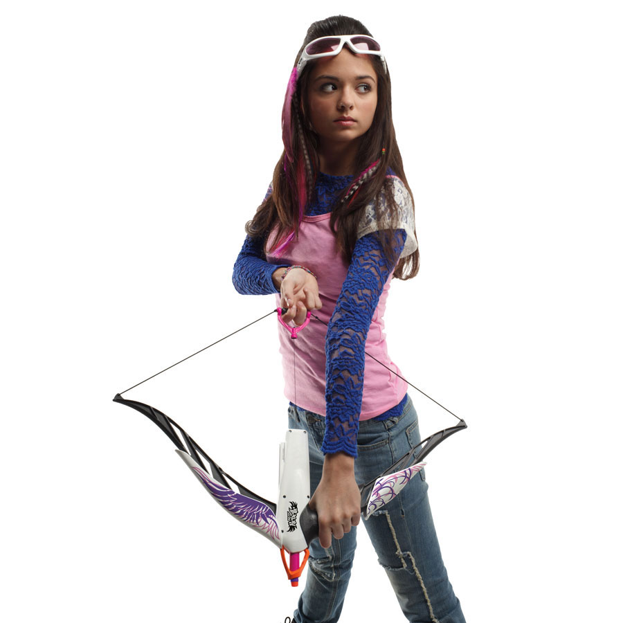 Amazon.com: Nerf Rebelle Phoenix Design Heartbreaker Bow
