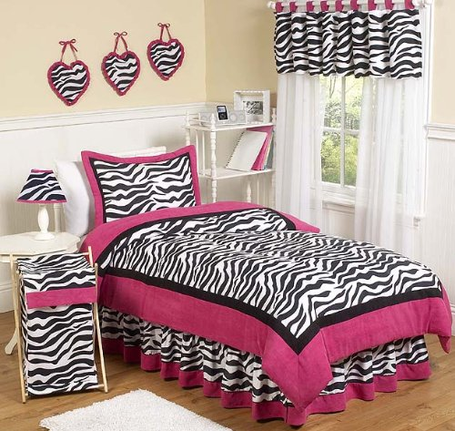 Hot Pink Zebra Bedding Safari Bedding