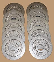 5 Lb Olympic Plates - 10 pc Package