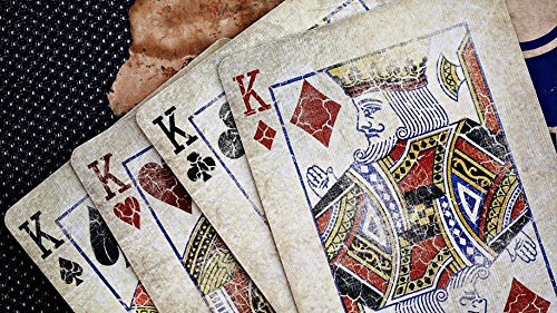 Bicycle 1800 Vintage Series Playing Cards by Ellusionist (Red) 3