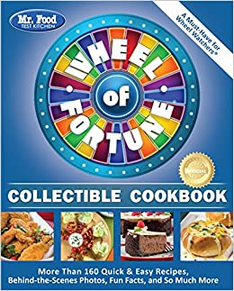 fortune wheel cookbook behind food kitchen collectible mr quick easy test amazon recipes scenes much than books facts fun flip