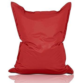 lumaland pouf int rieur ext rieur g ant g ant de luxe xxl coussin 380l 380l remplit en. Black Bedroom Furniture Sets. Home Design Ideas