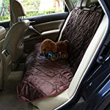 Alcoa Prime High Quality 2 Colors Pet Dog Cat Car Rear Back Seat Waterproof Carrier Cover Pet Dog Mat For Trunk SUV Dog Supllies