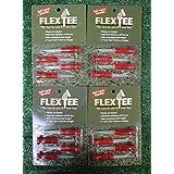 FLEX TEE 3 RED GOLF TEE 4-PACK