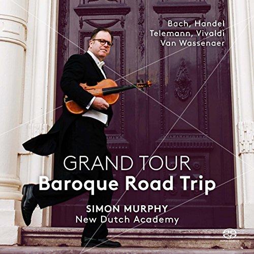 SACD : MYRSINI MARGARITI - SIMON MURPHY - THE NEW DUTCH ACADEMY - Grand Tour: Baroque Road Trip (Hybrid SACD)