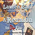A Reunion To Die For: Joshua Thornton Mystery #2 Audiobook by Lauren Carr Narrated by Kevin Foley