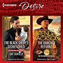 The Black Sheep's Secret Child & The Rancher Returns: The Westmoreland Legacy Audiobook by Cat Schield, Brenda Jackson Narrated by Amy Landon, Sean Crisden