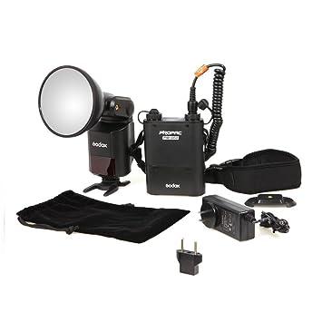 DynaSun 2X WOF4001 45 W Kit Flash Compatto da Studio Professionale