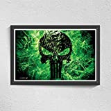 Pics And You Green Danger 300gsm Paper Poster/ Wall Poster-WPSH250