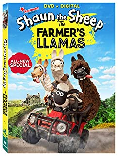 Book Cover: Shaun The Sheep: The Farmer's Llamas