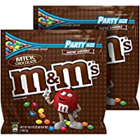2-Pack M&M'S Milk Chocolate Candy Party Size 42-Oz. Bag