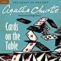 Cards on the Table: A Hercule Poirot Mystery Audiobook by Agatha Christie Narrated by Hugh Fraser