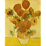 The Museum Outlet - Still Life With Sunflowers By Van Gogh - Canvas Print Online Buy (24 X 32 Inch)