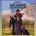 Last Hanging at Paradise Meadow: The Legend of Stuart Brannon #3 Audiobook by Stephen Bly Narrated by Jerry Sciarrio