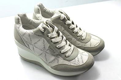 79375e4b87162 Calvin Klein Jeans RE9234 Sneakers Scarpe Donna Casual Sportive ...