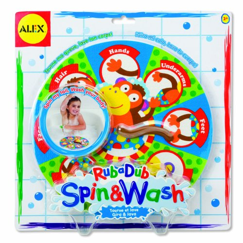 ALEX® Toys - Spin and Wash RubaDub Bath Toy 863W