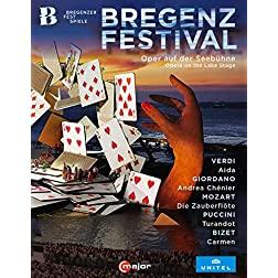 Bregenz Festival - Opera on the Lake Stage [Blu-ray]