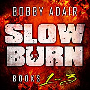 Slow Burn: Box Set 1-3 Audiobook