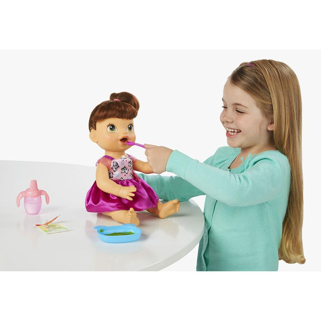 Amazon.com: Baby Alive My Baby All Gone Doll, Brunette: Toys & Games