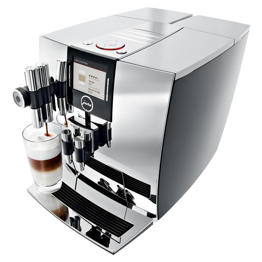 jura impressa j9 one touch tft coffee machine chrome kitchen home. Black Bedroom Furniture Sets. Home Design Ideas