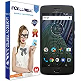 #9: Cellbell Tempered Glass Screen Protector With Free Installation Kit For Motorola Moto G5 Plus