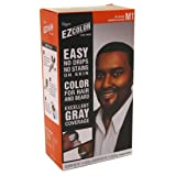 Bigen EZ Color Hair Color for Men - Jet Black Kit (Color: Jet Black M1, Tamaño: (1 Pack))