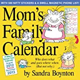 Moms Family Wall Calendar 2013
