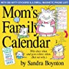 Mom's Family Wall Calendar 2013: August 2012 Through December 2013