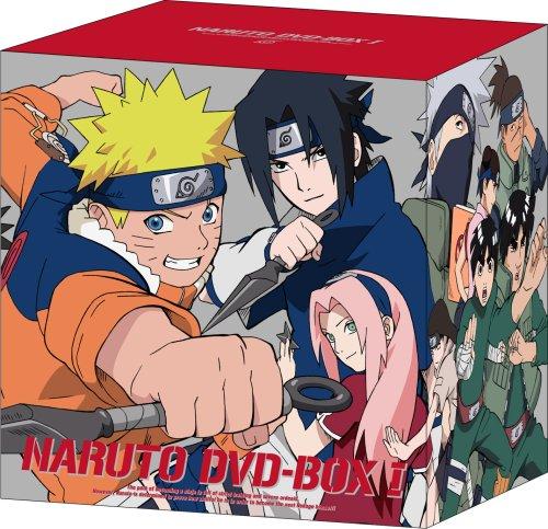 NARUTO-ナルト- DVD-BOX I 参上!うずまきナルト